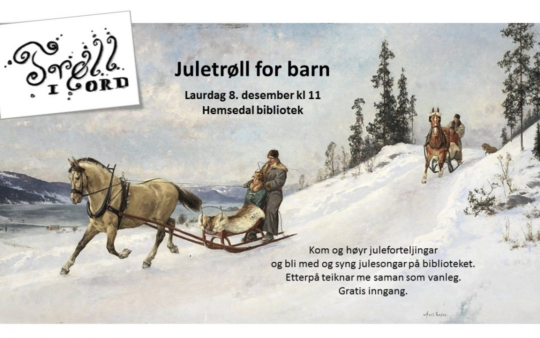 Juletrøll for barn